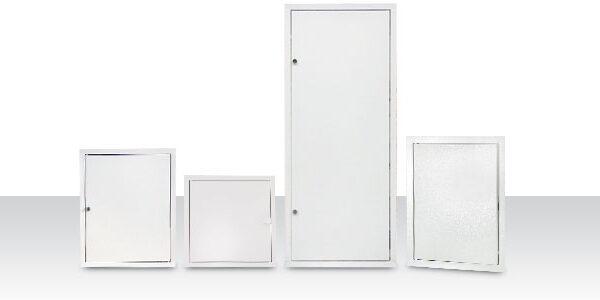 Fedlapok, ajtók, szervíz- és szellőzőnyílások