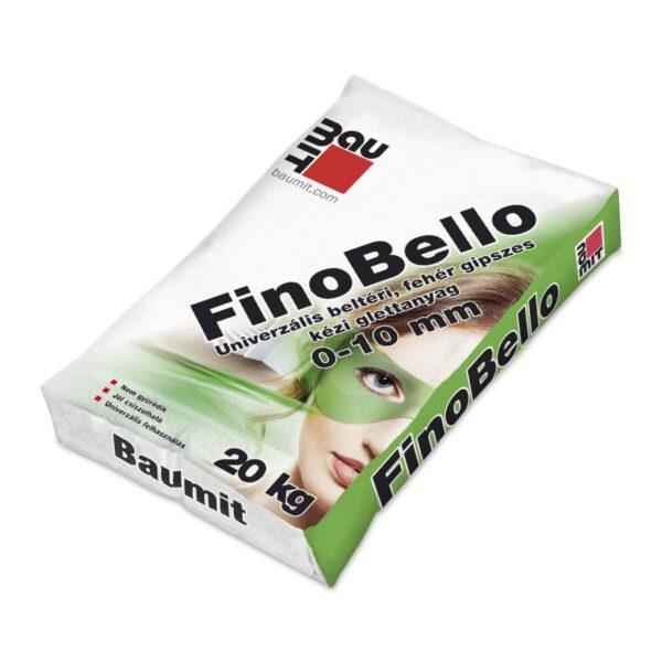 Baumit FinoBello gipszes glettanyag 0-10mm 20kg