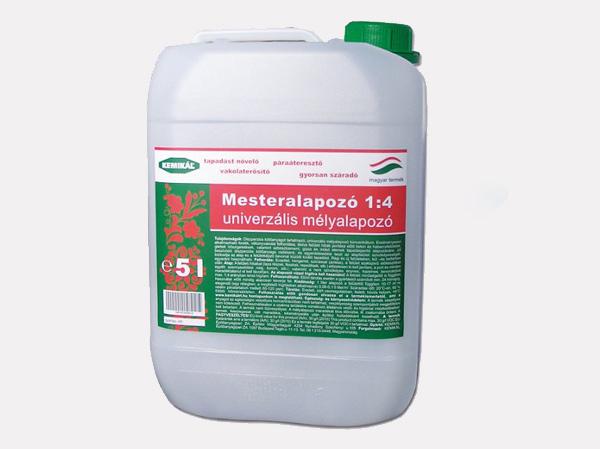 Mesteralapozó 1:4 - univerzális mélyalapozó 5 liter