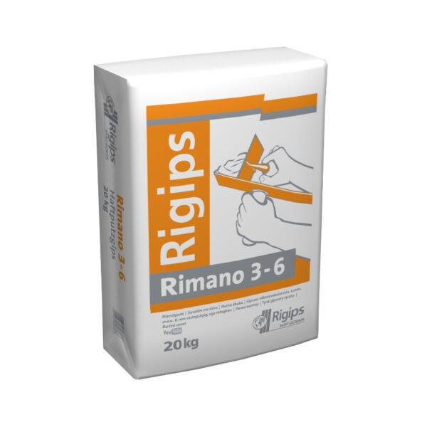 Rigips RIMANO 3-6  20 kg vékonyvakolat