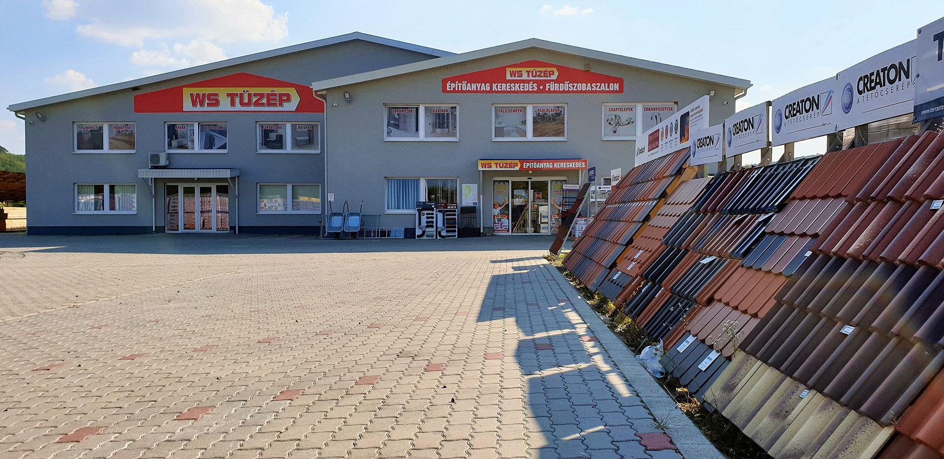 WS Tüzép Salgótarján - Építőanyag webáruház